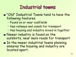 industrial towns