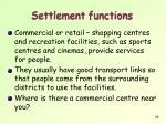 settlement functions3