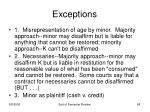 exceptions68