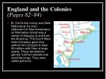 england and the colonies pages 82 842