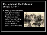 england and the colonies pages 82 845