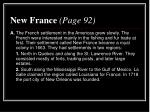 new france page 92