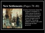 new settlements pages 78 80