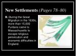 new settlements pages 78 801