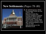 new settlements pages 78 802