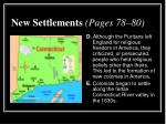 new settlements pages 78 803