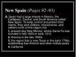 new spain pages 92 93
