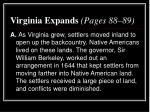 virginia expands pages 88 89