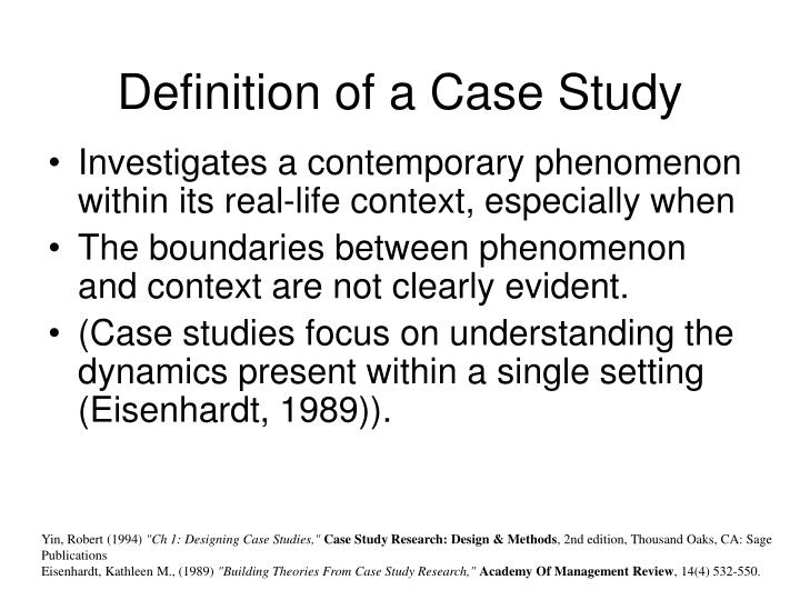 case study research definition Robert yin case study research - download as pdf file (pdf), text file (txt) or read online.