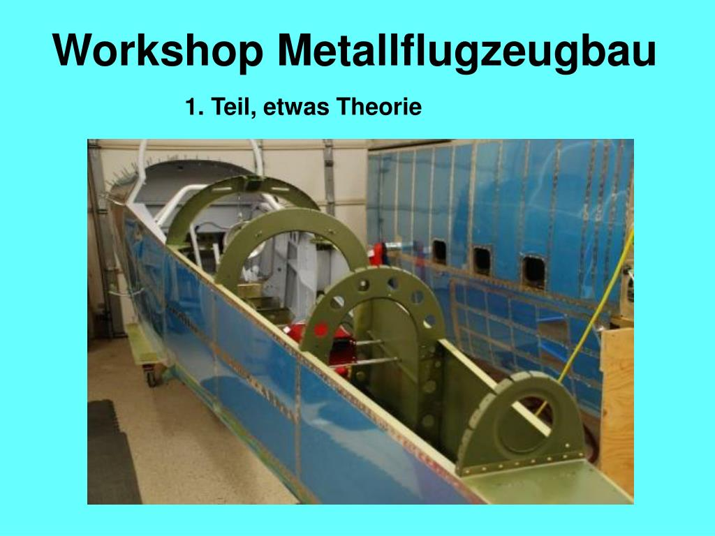 workshop metallflugzeugbau l.