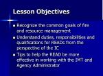 lesson objectives16