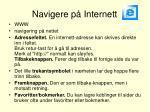 navigere p internett