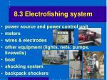 8 3 electrofishing system
