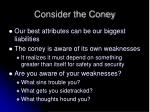 consider the coney10