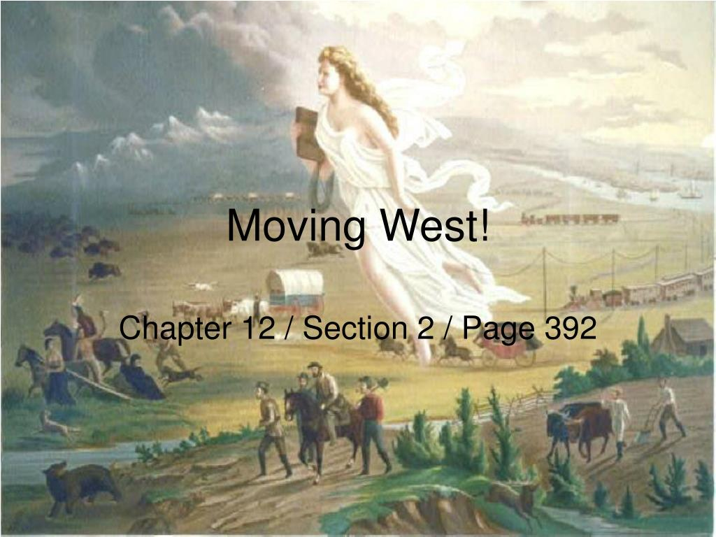 moving west l.