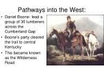 pathways into the west
