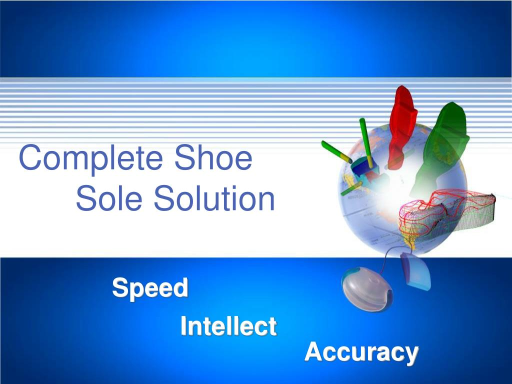 complete shoe sole solution l.