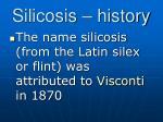 silicosis history17