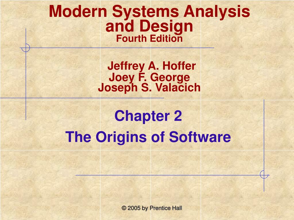 chapter 2 the origins of software l.