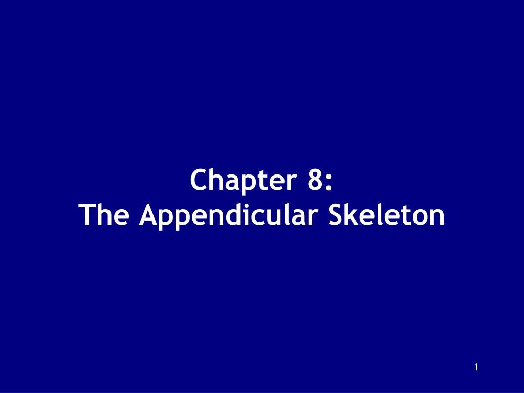chapter 8 the appendicular skeleton l.