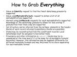 how to grab everything