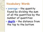 vocabulary words15