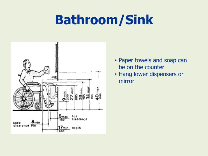 Bathroom/Sink