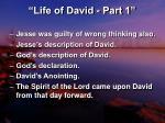 life of david part 117