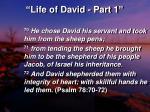 life of david part 119