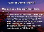 life of david part 16