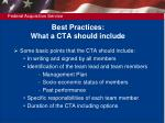best practices what a cta should include