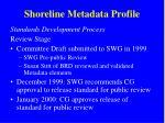 shoreline metadata profile5