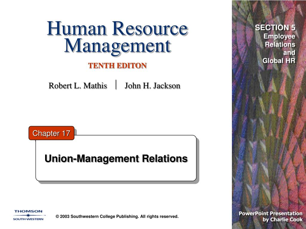 human resource management tenth editon l.