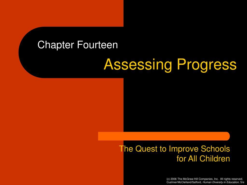 assessing progress l.