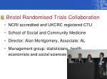 bristol randomised trials collaboration