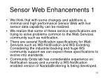 sensor web enhancements 1