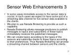 sensor web enhancements 3