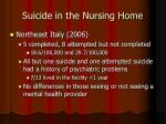 suicide in the nursing home14