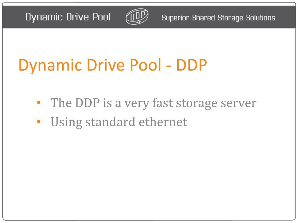 dynamic drive pool ddp l.