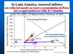 in latin america renewed inflows
