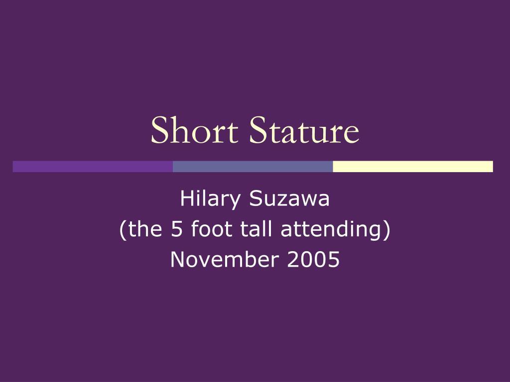 short stature l.