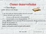 clases desarrolladas18