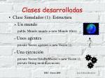 clases desarrolladas19