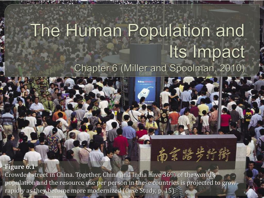 the human population and its impact chapter 6 miller and spoolman 2010 l.