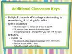 additional classroom keys