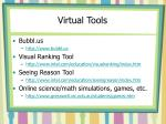 virtual tools
