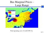 bus marginal prices large range