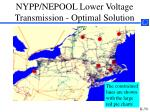 nypp nepool lower voltage transmission optimal solution