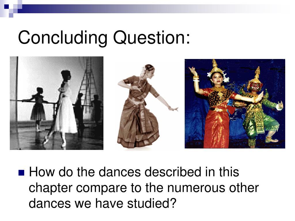 Concluding Question:
