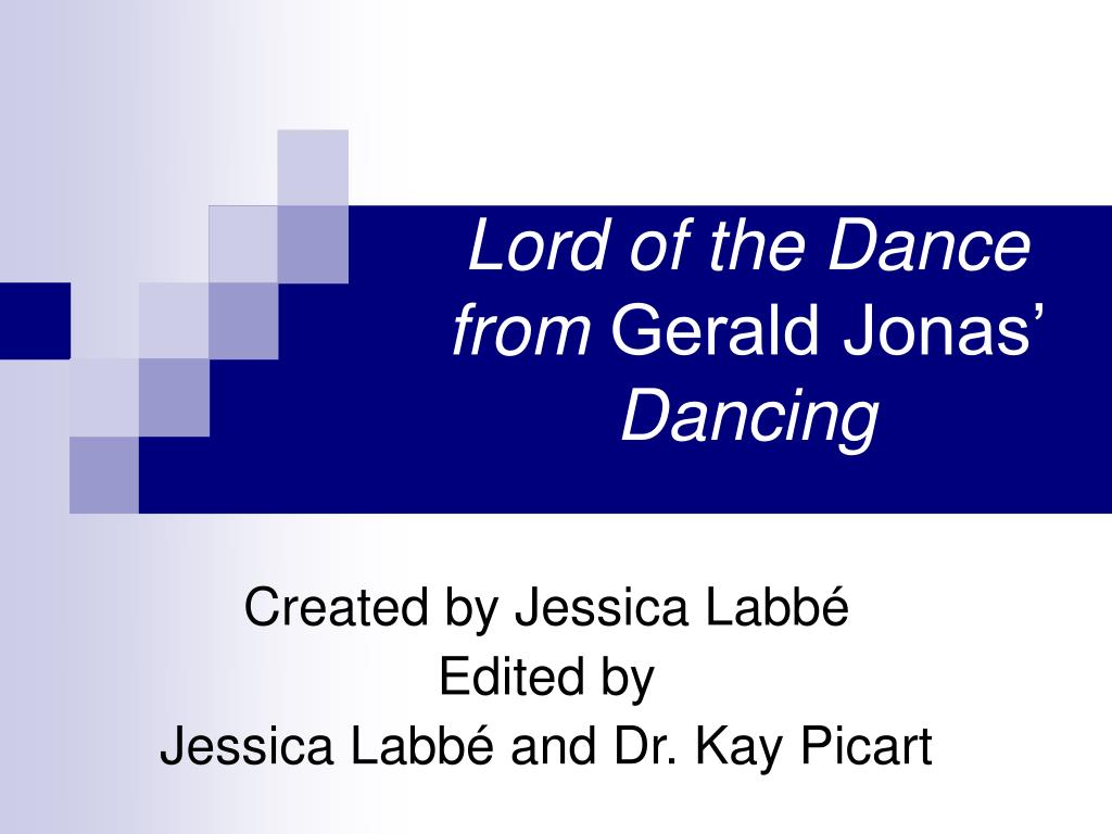 lord of the dance from gerald jonas dancing l.
